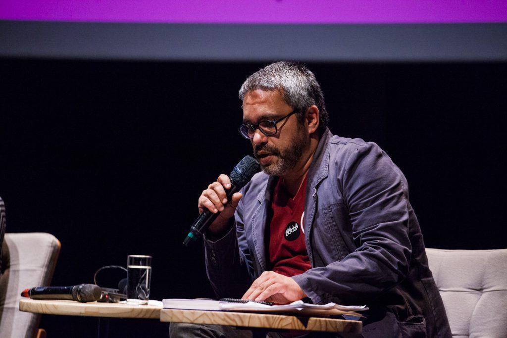 Cleber Eduardo, crítico e curador do Festival de Tiradentes