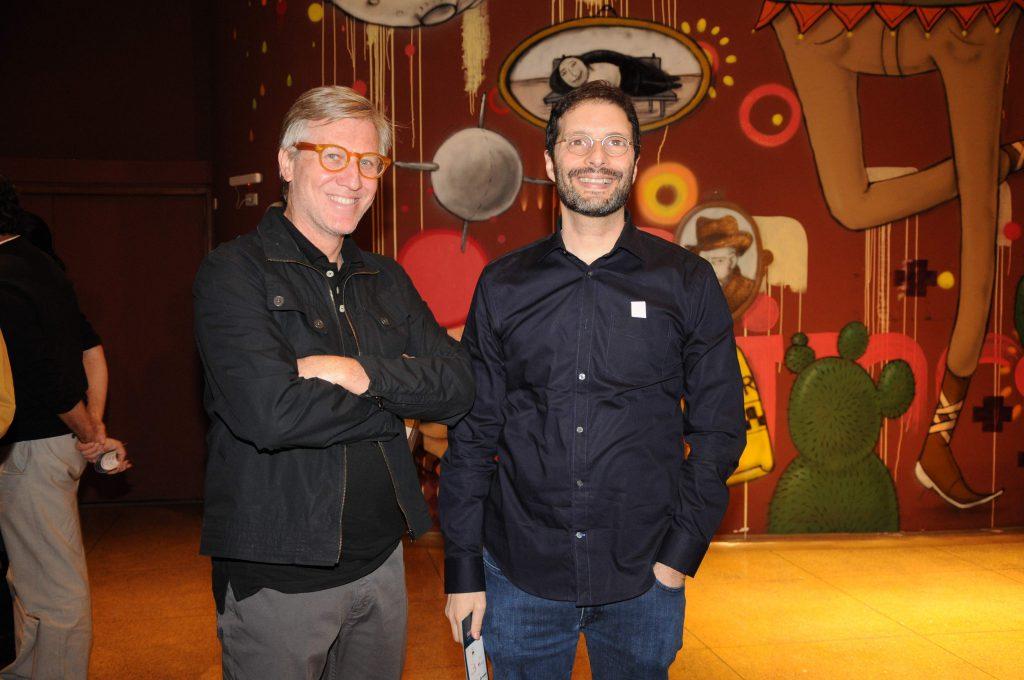 Carlos Nader e Marcelo Machado