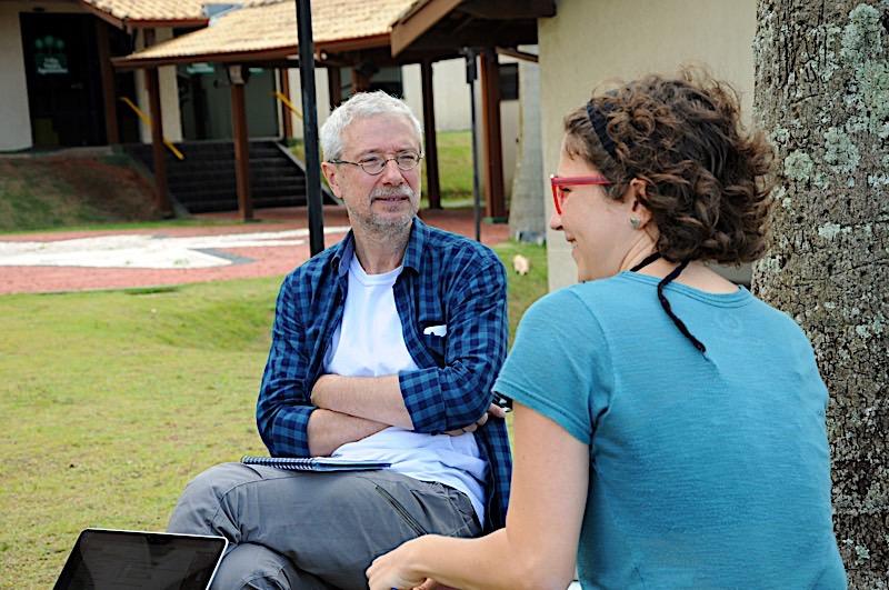"""Carolina Benjamin, do projeto """"Iramaya"""", com Miguel Machalski"""