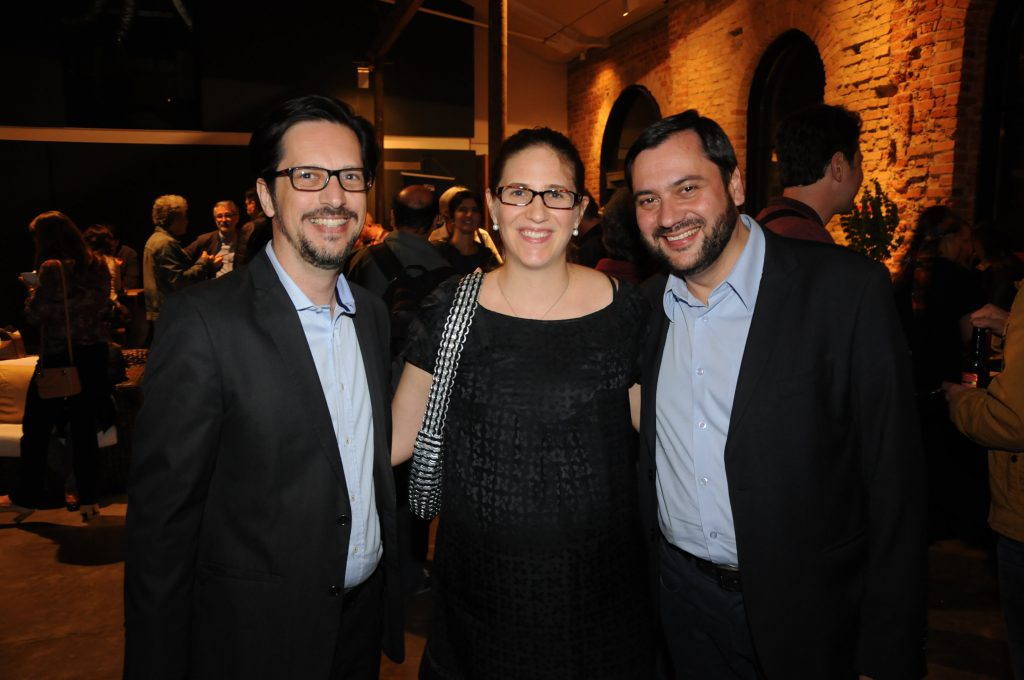 Eduardo, Adriana e André